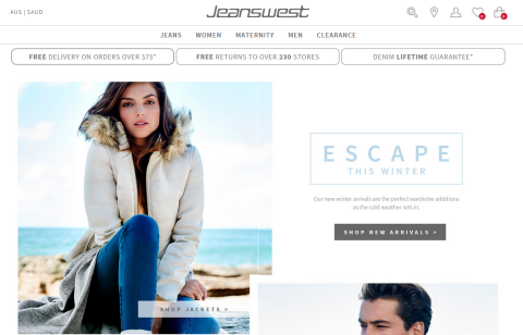 Jeanswest-Magento-Website