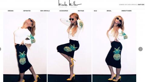 Nicole-Miller-Magento-Website