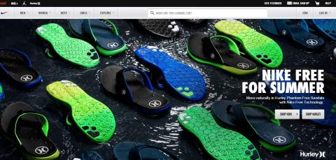 Nike-Magento-Website