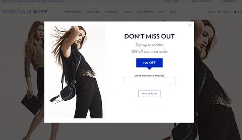 Rebecca-Minkoff-Magento-Website