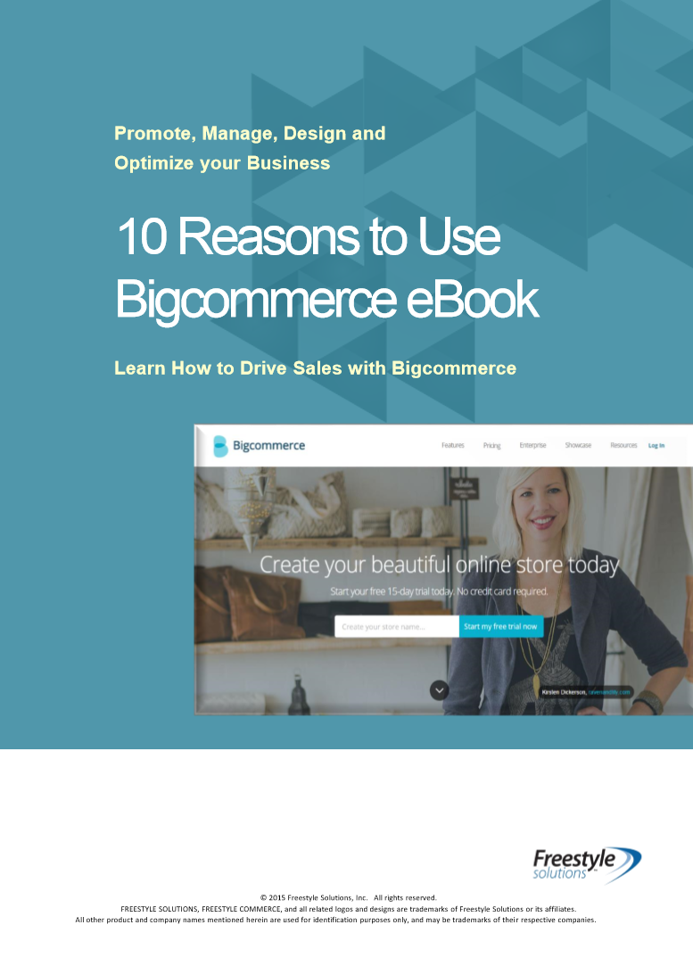 Reasons to Use Bigcommerce