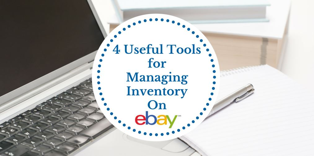 Learn key tools for managing inventory on ebay