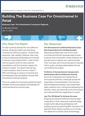 Forrester: Business Case for Omnichannel in Retail